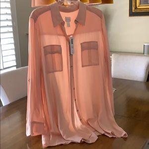 Shirt - long sleeve silky